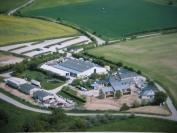 Vue aérienne du site de Villers charlemagne